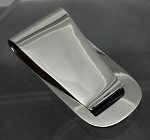 Sterling Silver Large Plain High Polish Money Clip