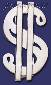 Sterling Silver Dollar Money Sign Money Clip