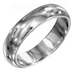 Sterling Silver Wedding Band Ring 5mm sz 13