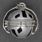 Sterling Silver 6-Picture Photo Ball Openwork Locket Pendant