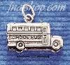 Sterling Silver SCHOOL BUS CHARM