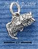 Sterling Silver SMALL LARGE MOUTH BASS CHARM