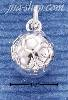 Sterling Silver HP 3D SOCCER BALL CHARM