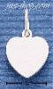 Sterling Silver SMALL ENGRAVABLE HEART CHARM