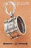 Sterling Silver DRUM CHARM