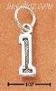 Sterling Silver JERSEY #1 CHARM