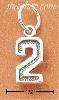 Sterling Silver JERSEY #2 CHARM