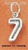 Sterling Silver JERSEY #7 CHARM