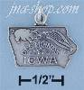 Sterling Silver IOWA STATE CHARM