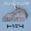 Sterling Silver KENTUCKY STATE CHARM
