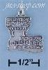 Sterling Silver LOUISIANA STATE CHARM