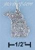 Sterling Silver MICHIGAN STATE CHARM