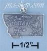 Sterling Silver MONTANA STATE CHARM