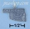 Sterling Silver OKLAHOMA STATE CHARM