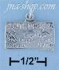 Sterling Silver SOUTH DAKOTA STATE CHARM
