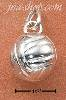 Sterling Silver HIGH POLISH VOLLEYBALL CHARM