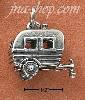 Sterling Silver TRAILER AND HITCH CHARM
