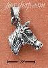 Sterling Silver HORSE HEAD & BRIDLE CHARM