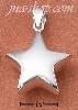 Sterling Silver MEDIUM SHINING STAR CHARM