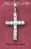 Sterling Silver SMALL PLAIN CZ CROSS