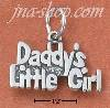 "Sterling Silver ""DADDY'S LITTLE GIRL"" CHARM"