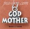 "Sterling Silver ""GOD MOTHER"" CHARM"