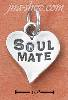 "Sterling Silver ""SOUL MATE"" CHARM"