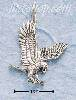 Sterling Silver FLYING BIRD OF PREY CHARM