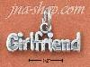 "Sterling Silver ""GIRLFRIEND"" CHARM"