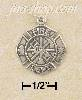 Sterling Silver FIREMAN'S MEDAL CHARM