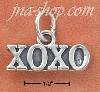 "Sterling Silver ""XOXO"" CHARM"