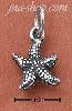 Sterling Silver RAISED DOTTED STARFISH CHARM