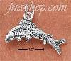 Sterling Silver LEAPING FISH CHARM