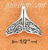 Sterling Silver WHALE TAIL ABORIGINAL CHARM