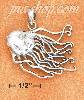 "Sterling Silver JELLYFISH CHARM (1.25"")"