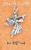 Sterling Silver ANGEL W/ TRUMPET CHARM