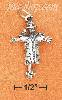 Sterling Silver 3D ANTIQUED MOVEABLE SCARECROW CHARM