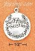 "Sterling Silver SLIGHTLY DOMED ""SOFTBALL MOM"" CHARM"