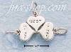 "Sterling Silver ""WE'RE BEST FRIENDS"" 3 PART CHARM"