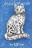 "Sterling Silver ANTQD 1.5"" CELTIC CAT PENDANT W/ 2MM & 3MM ROUND"
