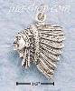 Sterling Silver SIDE VIEW INDIAN HEAD CHARM