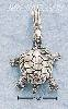 Sterling Silver TURTLE CHARM WITH MOVEABLE LIMBS