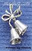 Sterling Silver BELLS WITH BOW CHARM