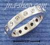 Sterling Silver 4MM MULTIPLE CZ DOTTED BAND SIZES 5-9