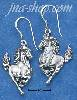 Sterling Silver STALLION EARRINGS ON FRENCH WIRES