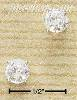 Sterling Silver 5MM ROUND CLEAR CZ POSTS