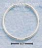 Sterling Silver 20MM ENDLESS WIRE HOOP EARRINGS