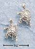 Sterling Silver SWIMMING TURTLE POST EARRINGS
