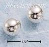Sterling Silver 7MM BALL POST EARRINGS