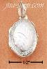 Sterling Silver EXTRA SMALL OVAL ETCHED LOCKET
